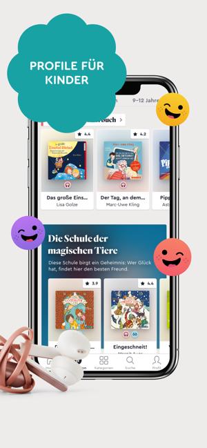 BookBeat - Hörbuch-Flatrate Screenshot