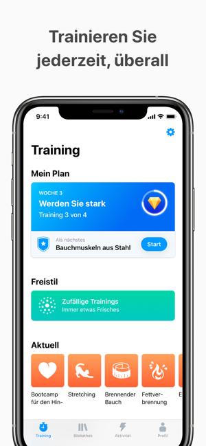 Seven - 7 Minuten Training Screenshot