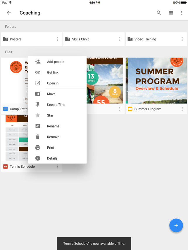 ‎Google Drive - Dateispeicher Screenshot