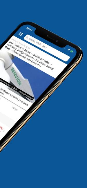Börse & Aktien - finanzen.net Screenshot