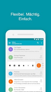Aqua Mail ─ E-Mail-App Screenshot