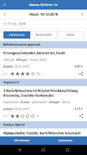 Mensa Screenshot