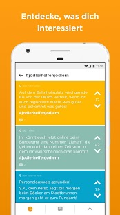 Jodel - Hyperlokale Community Screenshot