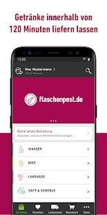 flaschenpost Screenshot