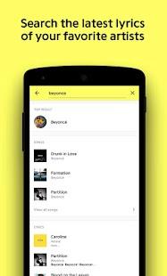 Genius: Songtexte & Mehr Screenshot