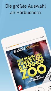 Audible: Hörbücher, Hörspiele & Podcasts hören Screenshot