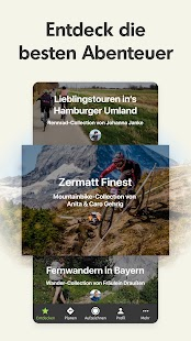Komoot — Fahrrad, Wander & Mountainbike Navi Screenshot