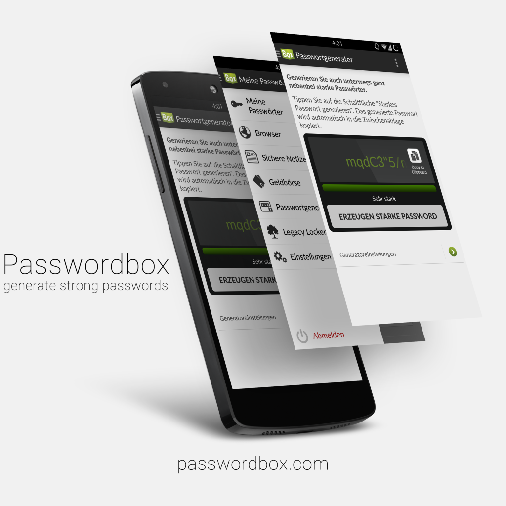 Passwordbox Banner