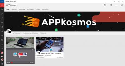AppKosmos-Übersicht-Explorer