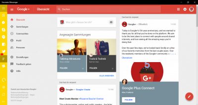 Harvester - Google+