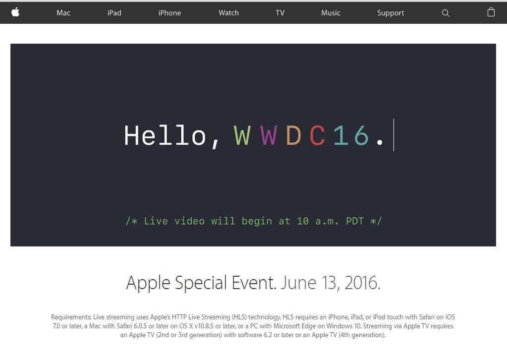 Für den Livestream wird ein Apple Gerät oder Windows 10 mit dem Edge Browser benötigt.