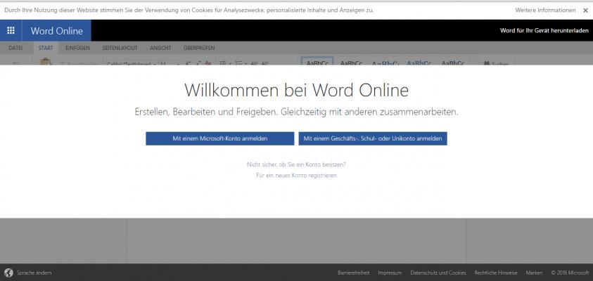 Office 365 - Office Online