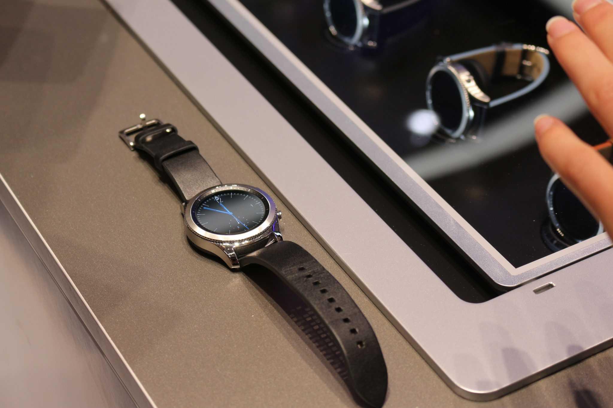 Die neue Gear S3 von Samsung