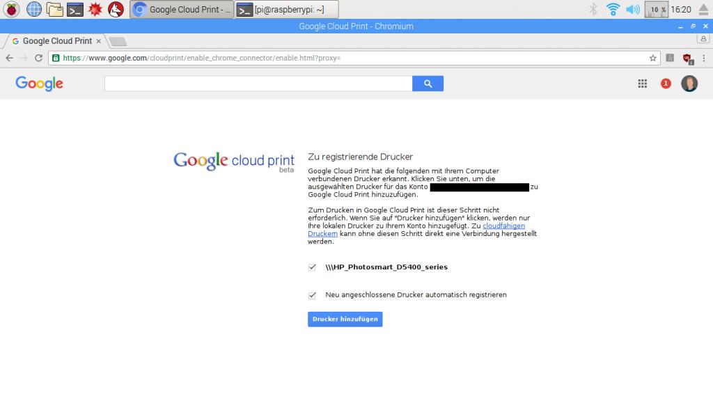 Cloud_Print_Verbinden
