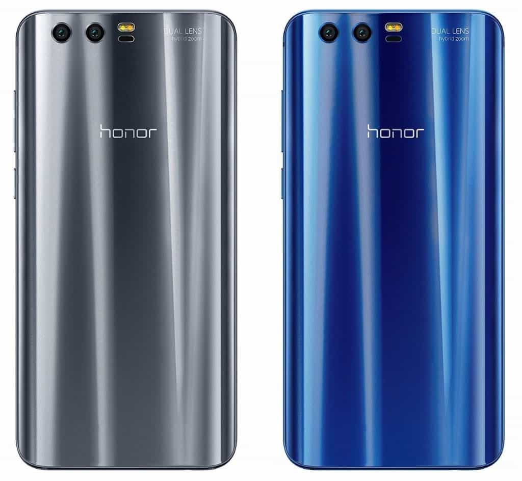 In Silber und Blau: das Honor 9 | Quelle: SmartDroid