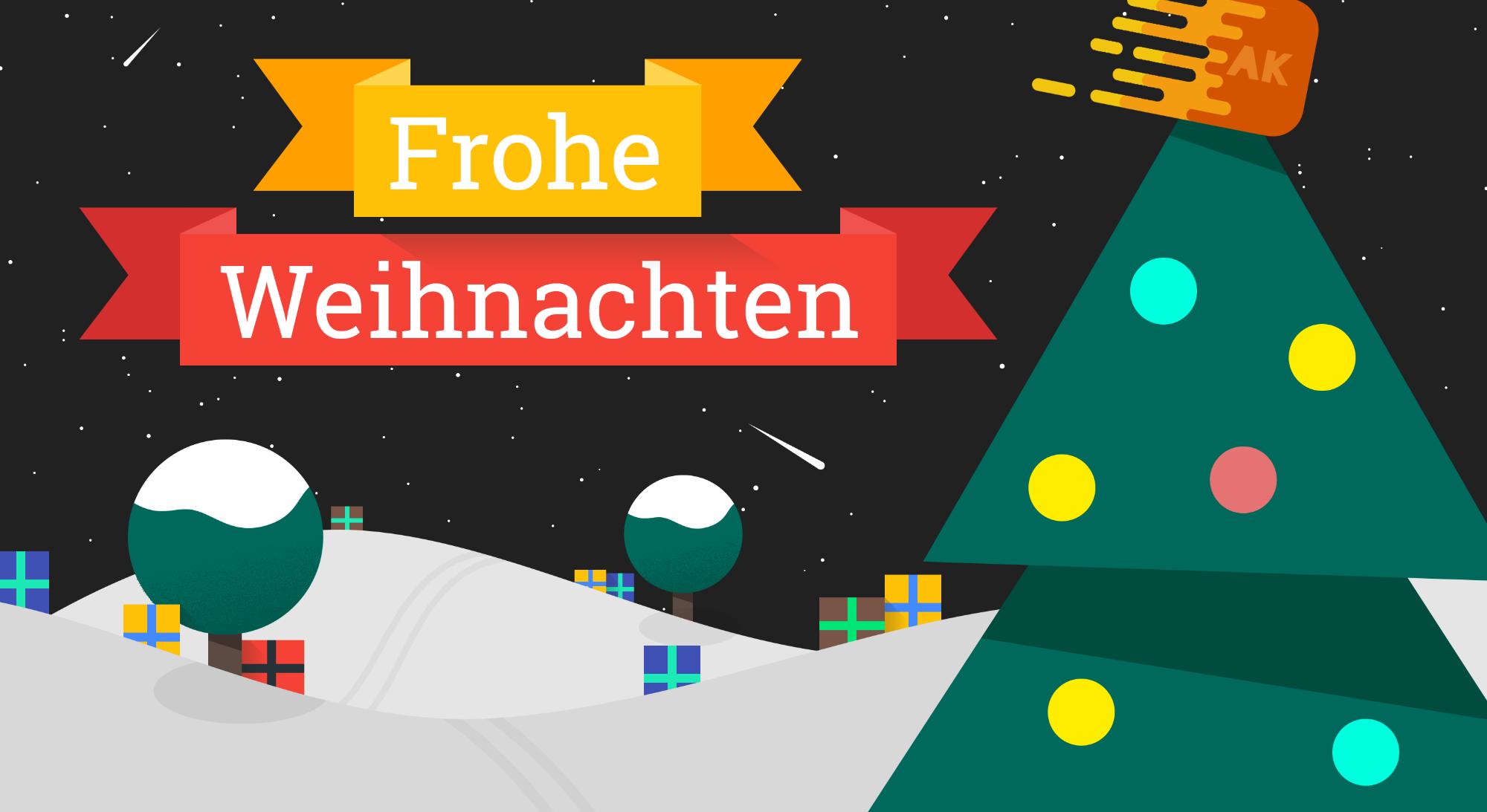 Email Frohe Weihnachten.Frohe Weihnachten Weihnachtsgrüße Aus Der Redaktion Appkosmos De