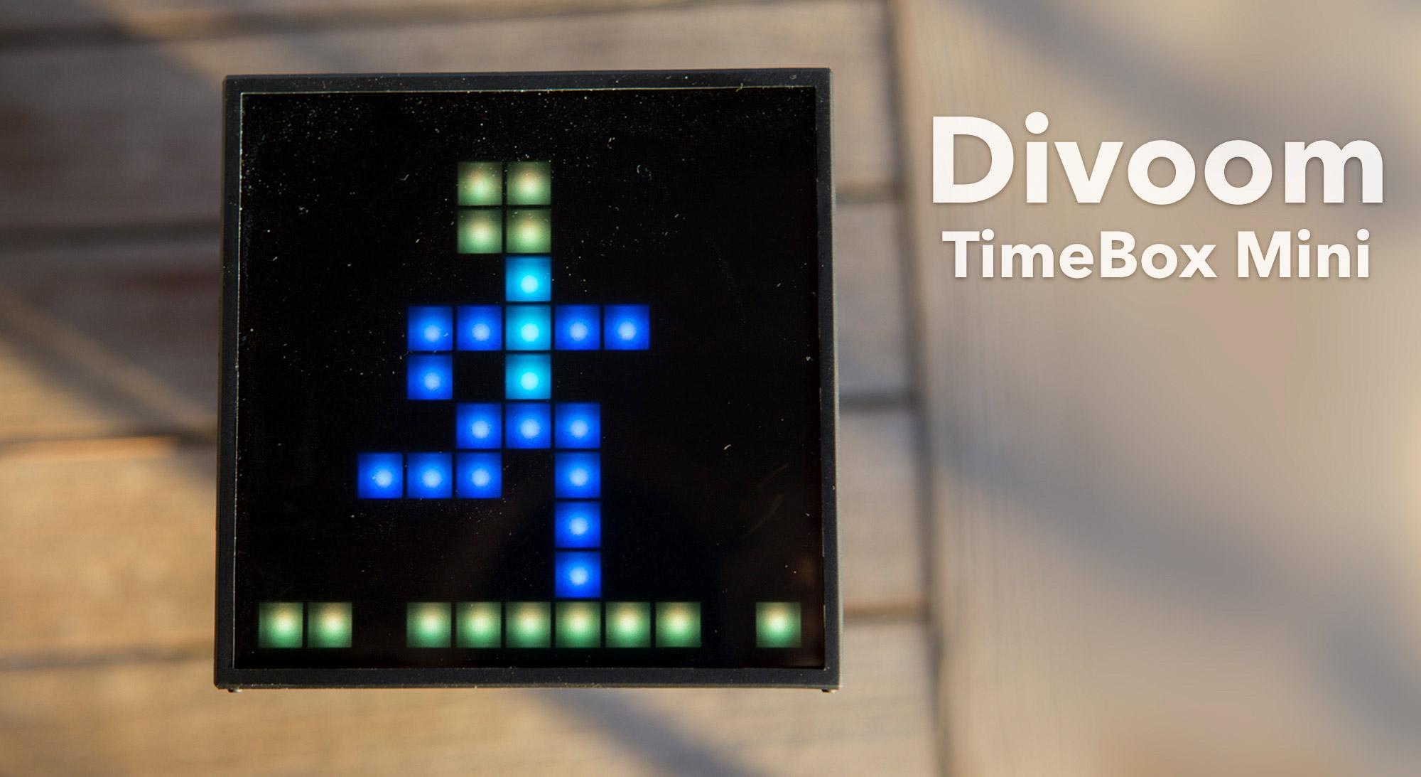 Divoom TimeBox Mini - ein kompakter Lautsprecher und vieles mehr ...