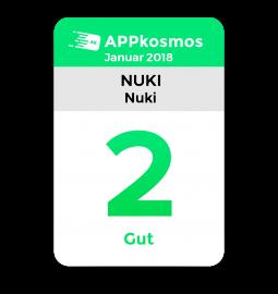 Das APPkosmos.de Testsiegel - Note 2