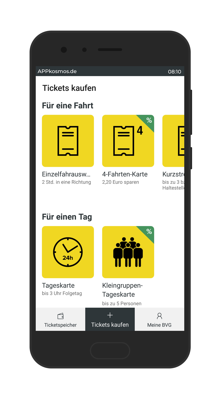 4 Fahrten Karte Bvg.Bvg Tickets Die Digitale Fahrkarte Fur Berlin Appkosmos De