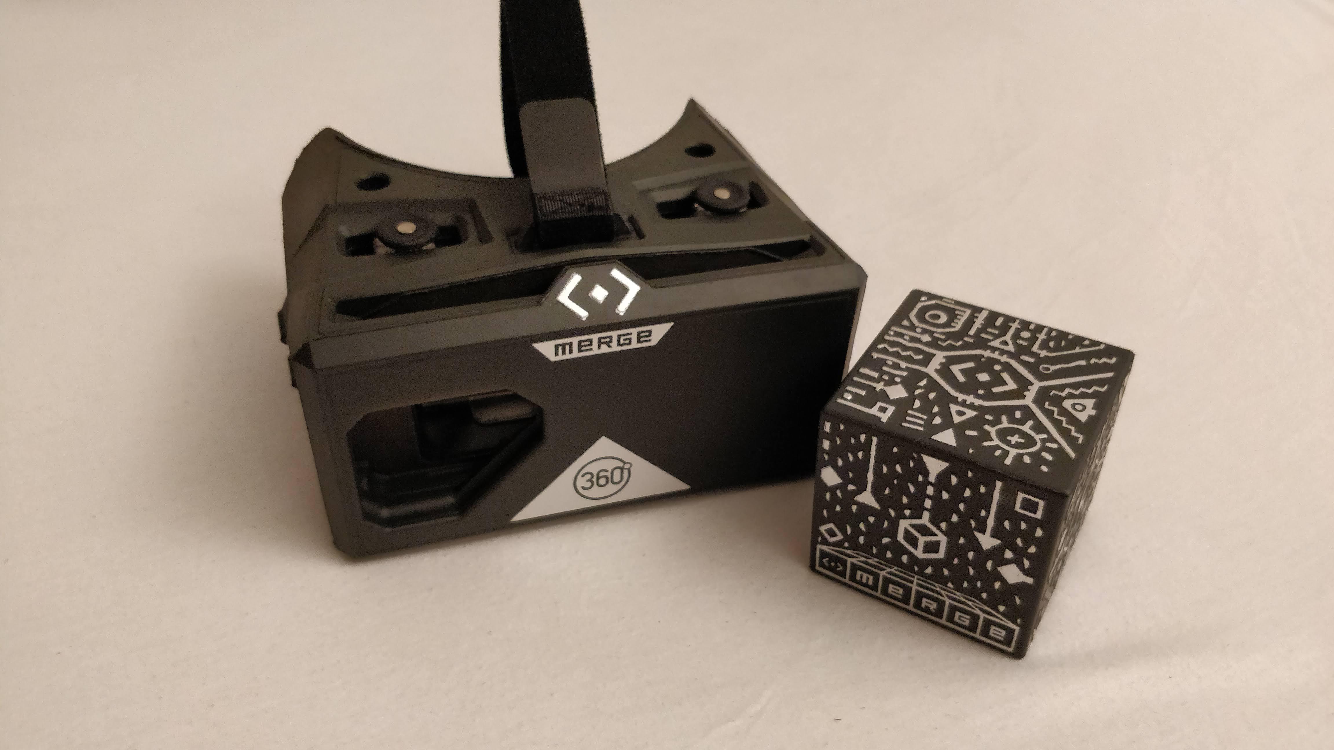 Cardboard Vr Brille Basteln : Einsehen in virtuelle welten merge cube und vr brille im test