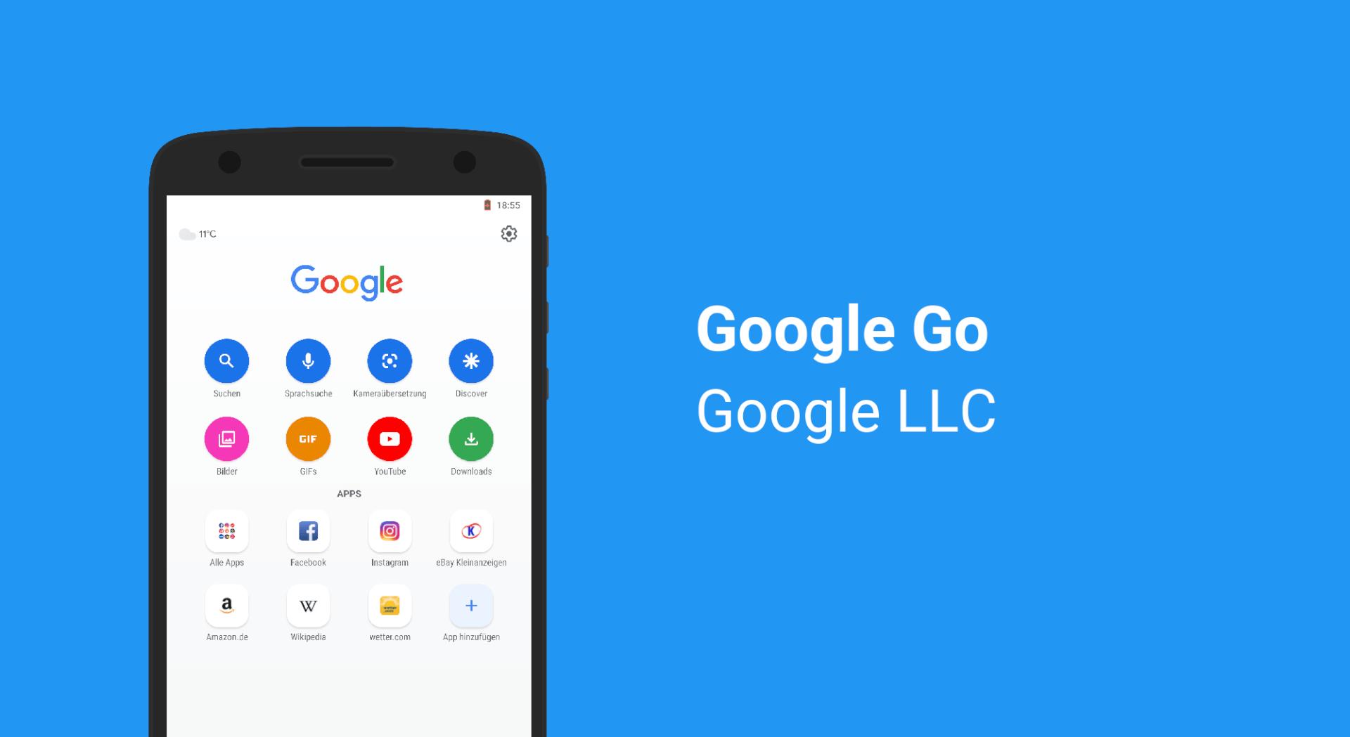 Google Go - Das Leichtere Google  Appkosmosde-2825