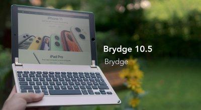 brydge 10.5 keyboard mit iPad Pro